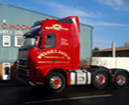 red lorry